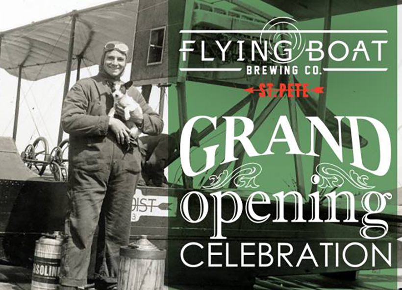 flying boat brewing company grand opening